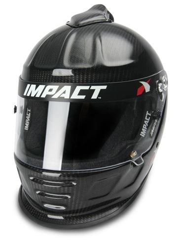Impact Racing Carbon Fiber Air Draft Helmet Sa2015