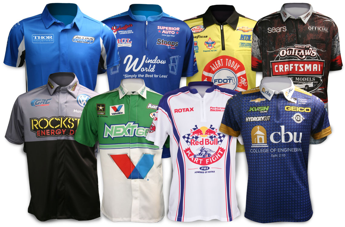 Impact Racing Crew Uniforms
