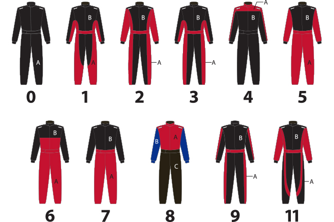 Impact Racing Custom Driver Suits