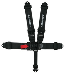 16.1 Racer Series Integrated Latch & Link Restraints - 3inch x 3inch - Individual Shoulders